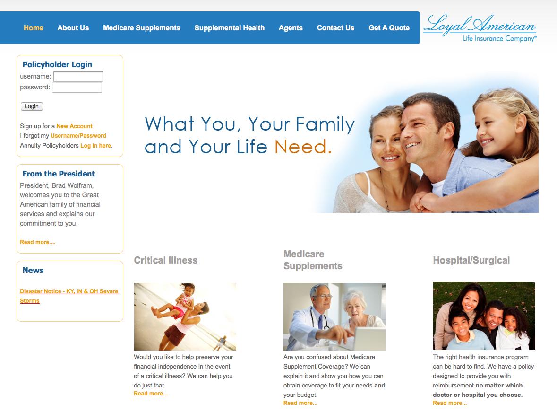 Loyal American Website