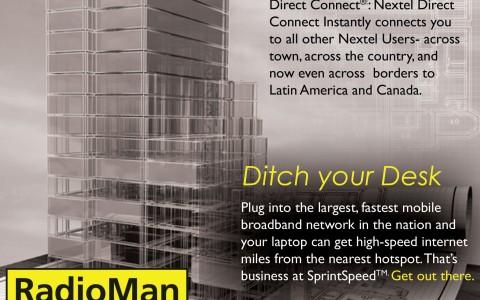 Radio Man Magazine Ad