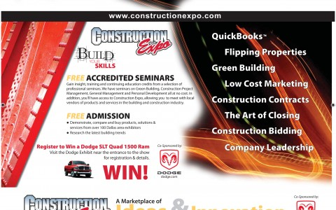 Construction Expo Mailer